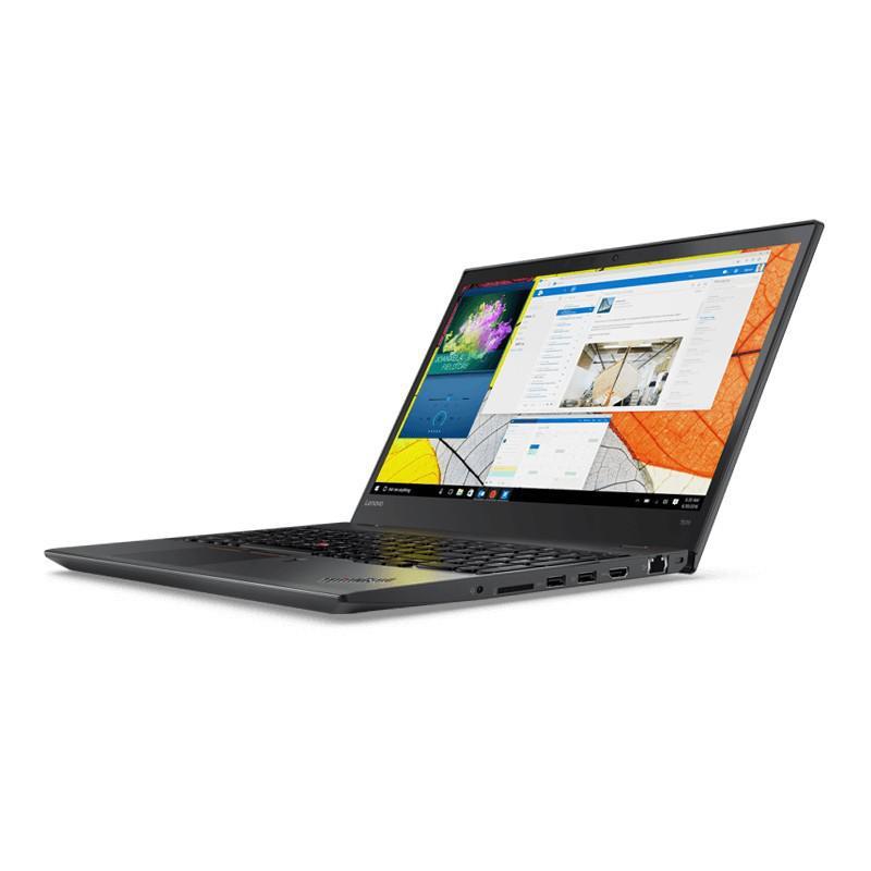 """Lenovo ThinkPad T570 15."""" Core i7 2.80 GHz - RAM 8 GB - SSD 240 GB QWERTY - English (US)"""