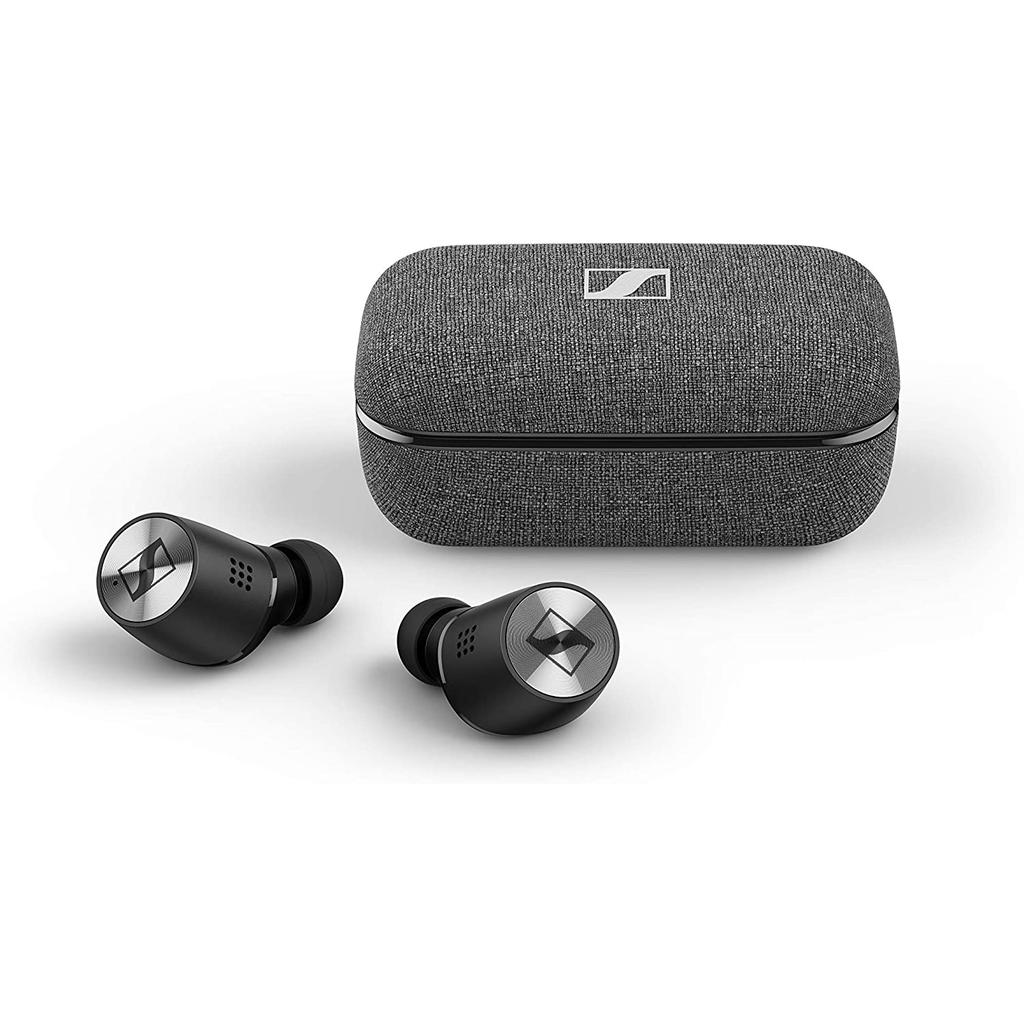 Sennheiser Momentum 2 True Wireless Earbud Noise-Cancelling Bluetooth Earphones - Black