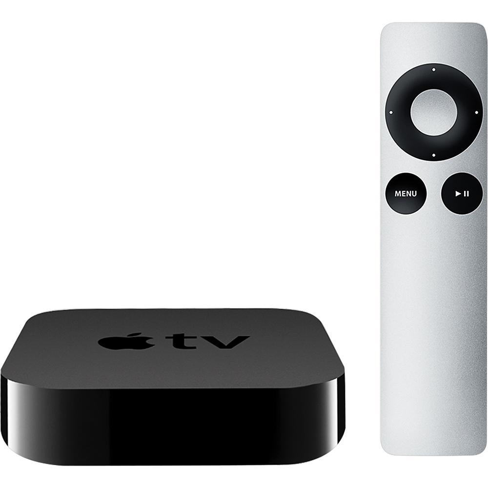 Apple TV (3rd Gen) MD199LL/A 8GB 1080p, Black (Certified Refurbished)