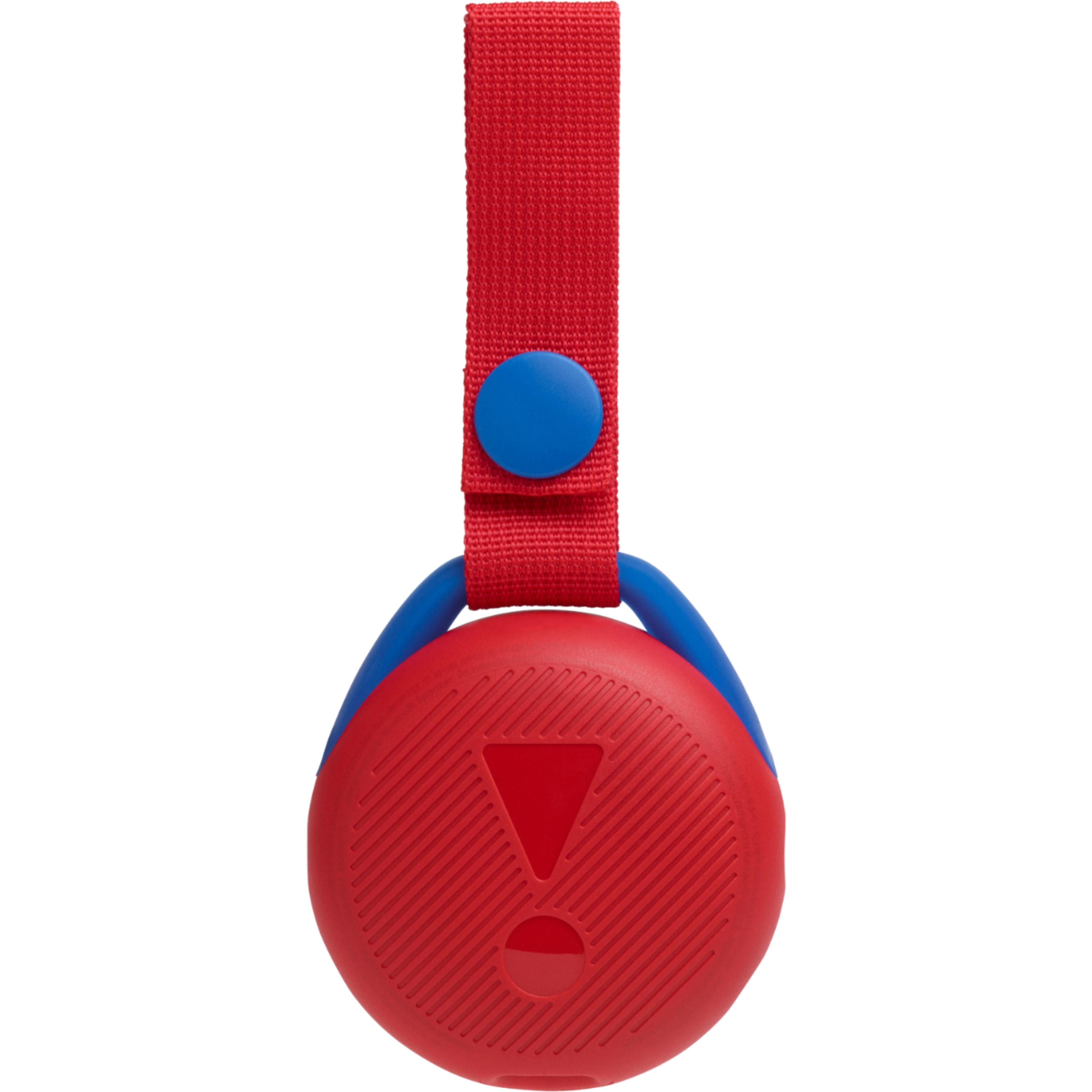 JBL - JR POP Portable Bluetooth Speaker - Apple Red