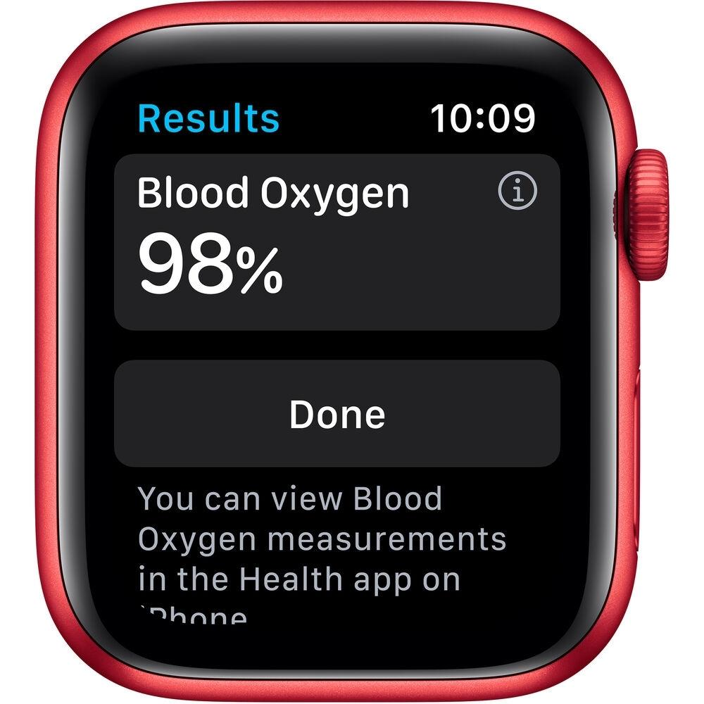 Apple Watch (Series 6) 40 mm - Aluminum Red - Sport Red