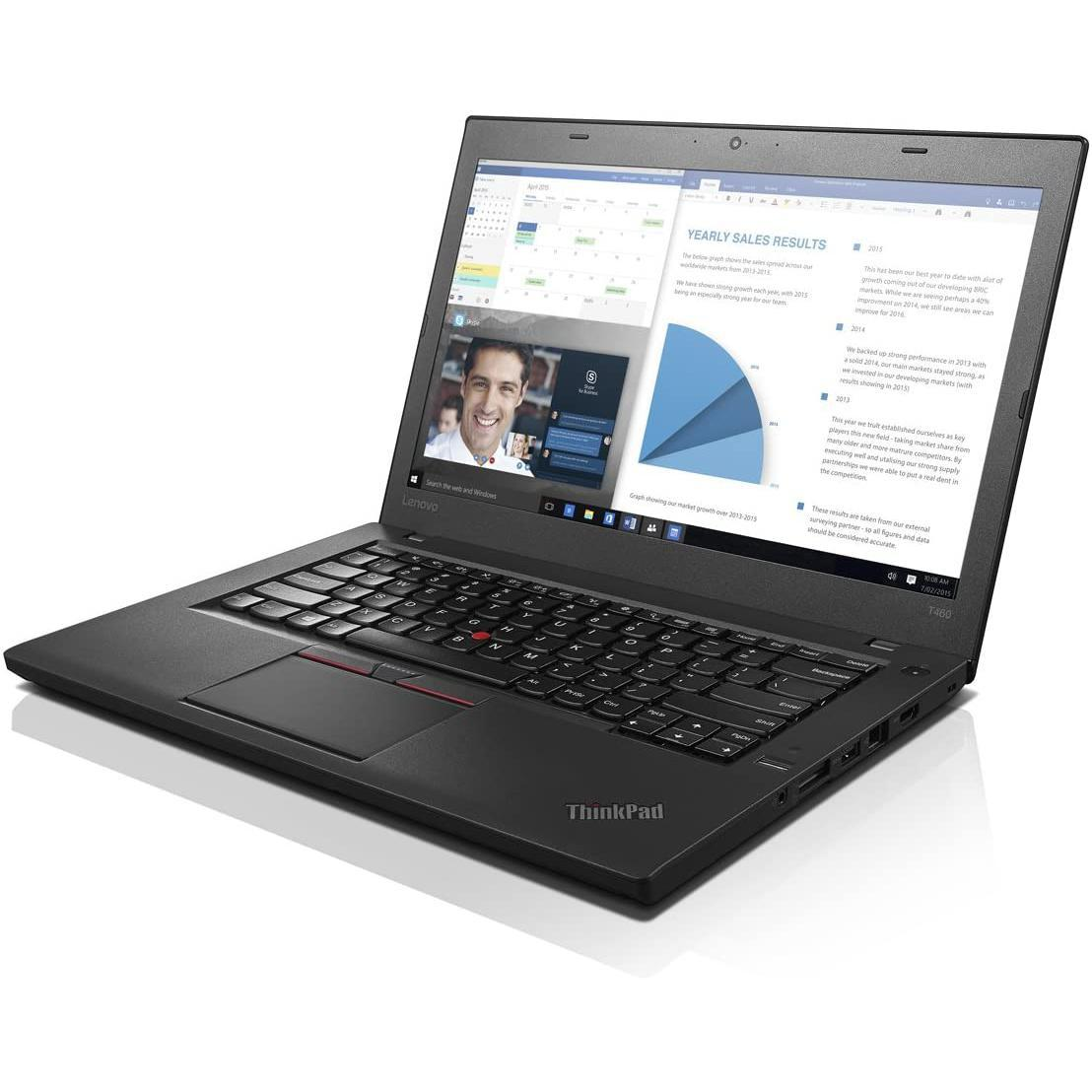 Lenovo ThinkPad T460 14-inch (2016) - Core i5-6300U - 8 GB - SSD 128 GB