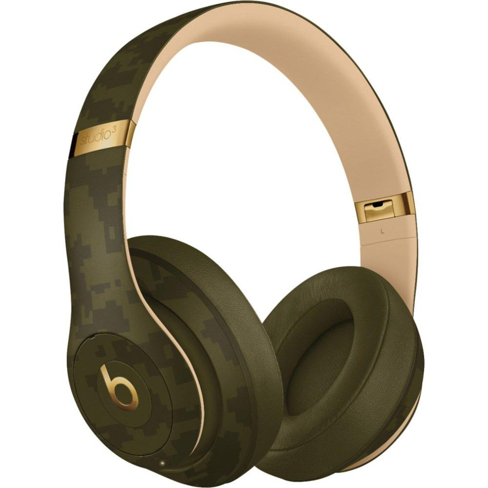 Beats Studio3 Noise cancelling Headphone Bluetooth with microphone - Green