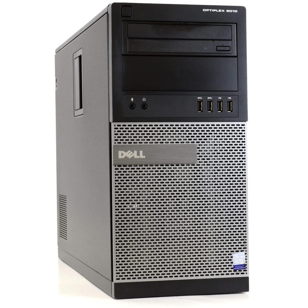 Dell OptiPlex 9010 Tower Core i5 3.2 GHz - HDD 1 TB + SSD 120 GB - RAM 8 GB