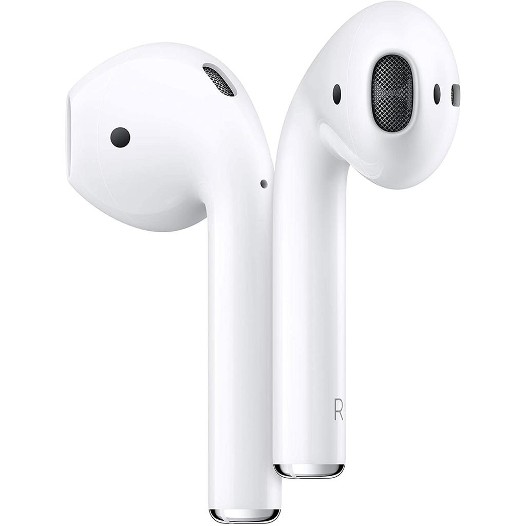 AirPods (2nd Generation) Earbud Bluetooth Earphones - White
