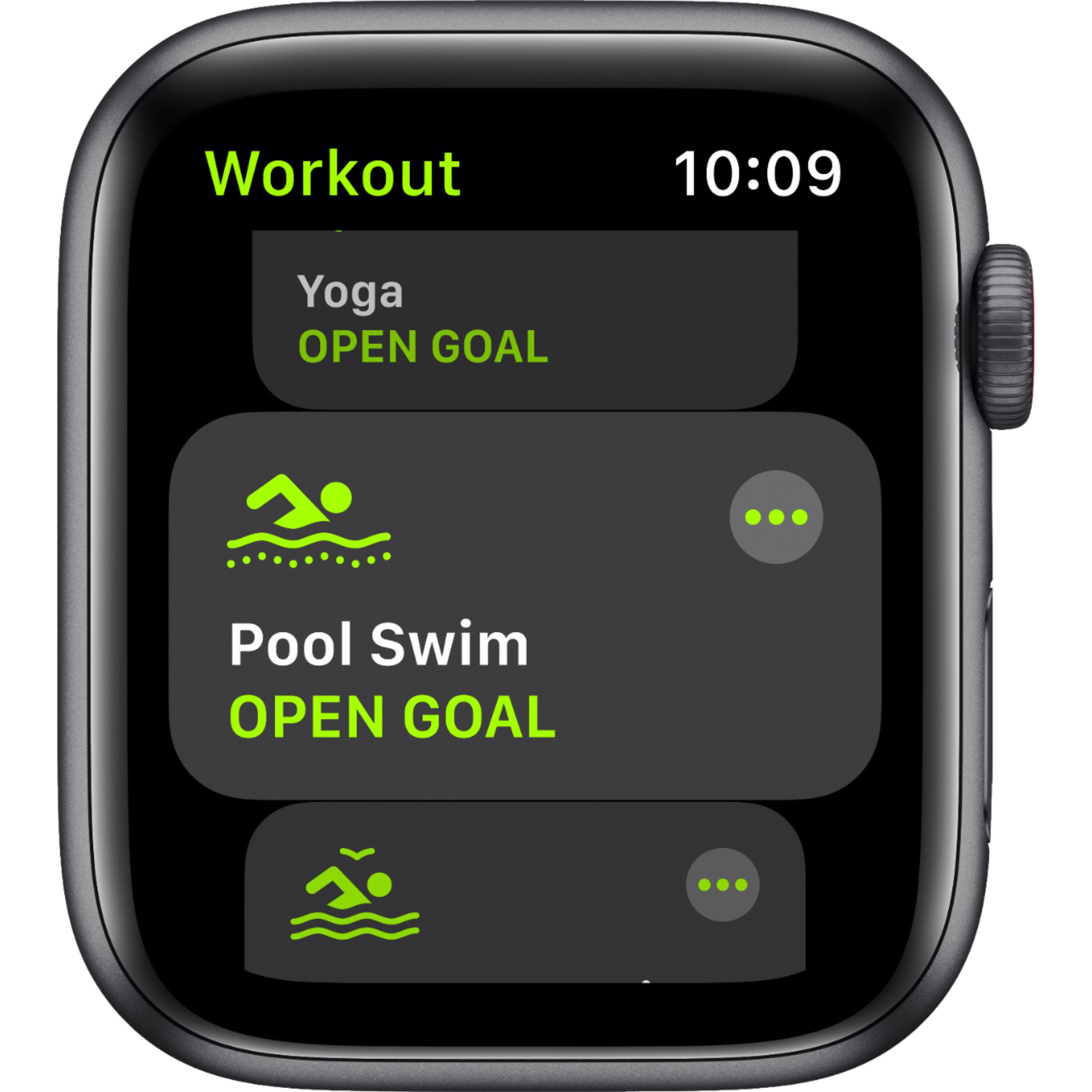 Apple Watch (Series SE) September 2020 44 mm - Aluminium Space gray - Sport Loop Charcoal