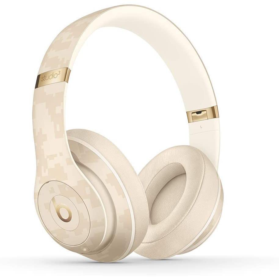 Beats Studio3 Noise cancelling Headphone Bluetooth with microphone - Sand dune