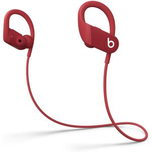 Beats By Dr. Dre Powerbeats 4 Earbud Noise-Cancelling Bluetooth Earphones - Red
