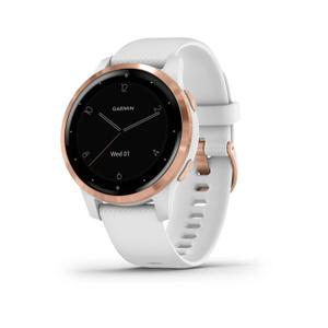 Watch Cardio GPS Garmin vívoactive 4S - Rose Gold  / White