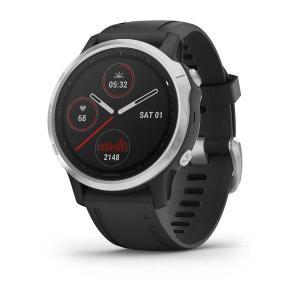 Watch Heart Rate GPS Garmin Fenix 6S - Silver