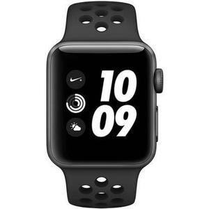 Apple Watch (Series 2) 42 mm  Nike Edition - Aluminum Space Gray - Black Sport Band