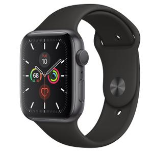 Apple Watch Series 5 GPS - 40mm Space grey Aluminum Case - Black Sport Band