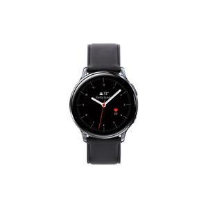 Galaxy Watch Active2 SM-R835U 40 mm - Stainless Steel Black - Leather Black Strap