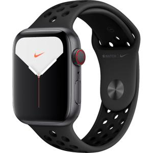 Apple Watch Nike Series 5 (GPS + Cellular) 44mm Space Gray Aluminum Case with Anthracite/Black Nike Sport Band