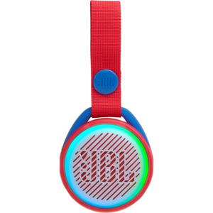 JBL - JR POP Portable Bluetooth Speaker - Apple Red