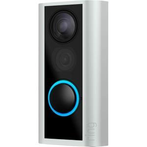 Video Doorbell Ring Peephole Cam  - Satin Nickel