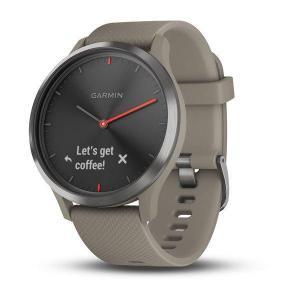 Sport Watch Cardio Garmin vívomove HR Black / Sandstone