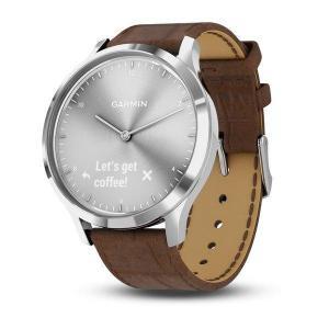 Sport Watch Cardio Garmin vívomove HR Silver / Brown