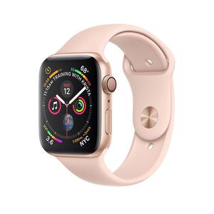 Apple Watch (Series 4) 44mm Aluminium Rose Gold - Pink Sport Band