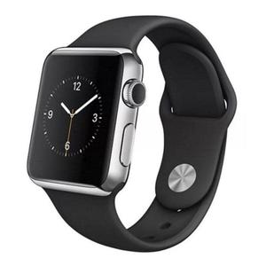 Apple Watch Series 2 42mm Stainless Steel Case - Black Sport Band