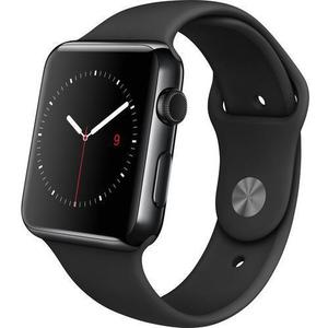 Apple Watch Series 2 38mm Space Black Stainless Steel Case Black Sport Band