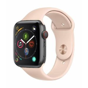 Apple Watch Series 4 44mm Space Gray Aluminum Case Pink Sport Band