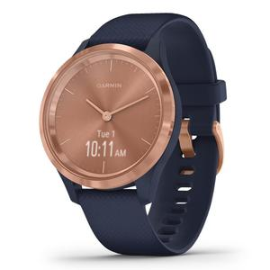 Watch Cardio GPS Garmin Vivomove 3S - Navy/Rose Gold