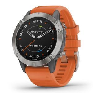 Garmin Smart Watch Fenix 6 Sapphire HR GPS - Titanium