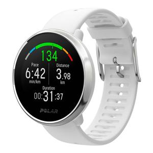 Watch Cardio GPS Polar Ignite - White/Silver