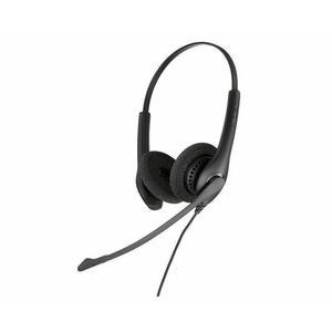 Wired Headset Jabra Biz 1500 Duo QD - Black