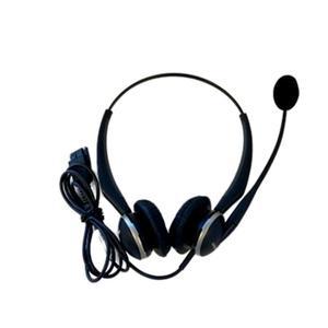 noise-reducing headphones with Micro Jabra GN2100 Duo - Black