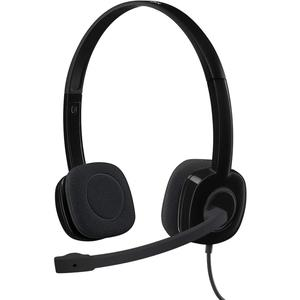 Stereo headset with Microphone Logitech H151 - Black