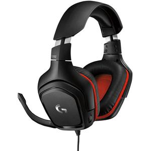 Headphones Gaming Con micrófono Logitech G332 - Black