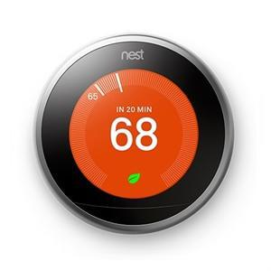 Google T3007ES Nest Learning Thermostat 3rd Generation - Stainless Steel