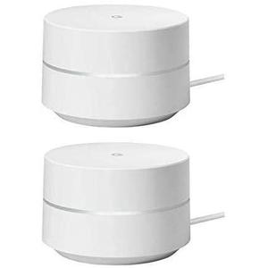 Wi-Fi System Mesh Router 2-Pack Google GA00157-US - White
