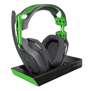 A50 Gaming Headphone Bluetooth with microphone - Black/Green