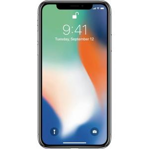 iPhone X 256GB - Silver Straight Talk
