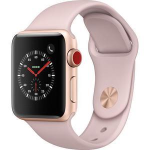 Apple Watch Series 3 Smartwatch (GPS + Cellular) 42mm - Gold Aluminum