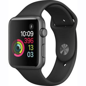 Apple Watch (Series 1) 42mm - Space Gray Aluminum - Case Black Sport Band
