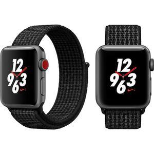 Apple Watch Nike+ Series 3 (GPS + LTE) 38mm - Space Gray Aluminum Case with Black Loop