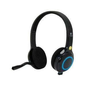 Logitech H600 Wireless Headset with Noise-Cancelling Mic & On-Ear - Black/Blue