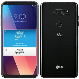 LG V30 Plus 128GB   - Black Unlocked