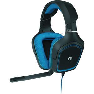 Logitech G430 Surround Sound Gaming Headset - Blue/Black