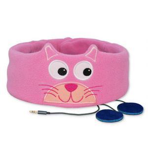 Snuggly Rascals kids earphones (Kitten) - Pink