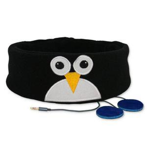 Snuggly Rascal Kid's Headphones (Penguin) - Black