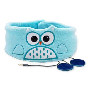 Snuggly Rascal Kid's Headphones (Owl) - Blue