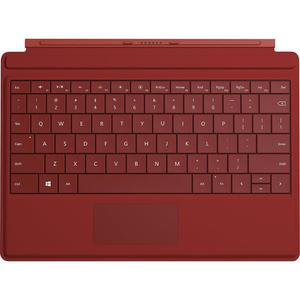 Keyboard Microsoft Surface 3 Type Cover Qwerty Backlit Keys - Red