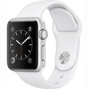 Apple Watch (Series 3) 42 mm - Aluminium Silver - Sport Band White