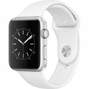 Apple Watch Series 1 42mm - Silver Aluminum Case - White Sport Band