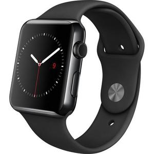 Apple Watch (1st Generation) 42mm - Space Black Stainless Steel - Black Sport Band